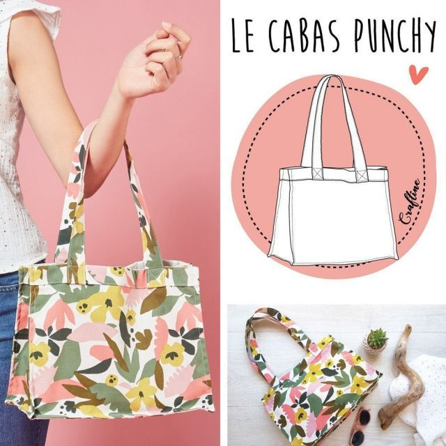Kit Couture Craftine Cabas Punchy