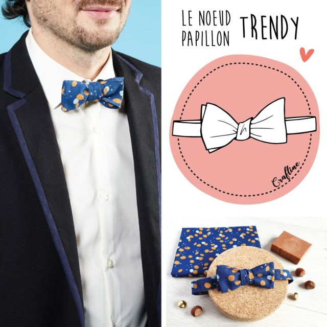 Kit Couture Craftine Noeud Trendy