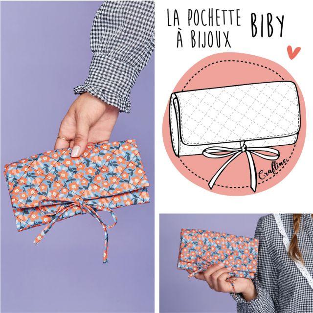 Kit Couture Craftine Pochette à bijoux Biby