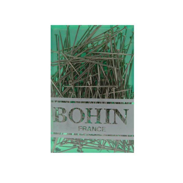 Épingles Bohin Acier 30 x 0,60 mm x200