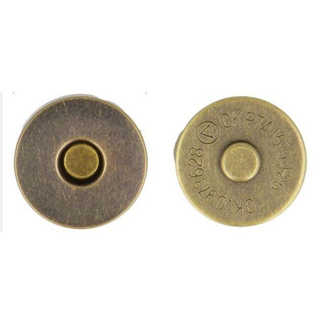 Fermoir magnétique Cuivre 19 mm X2