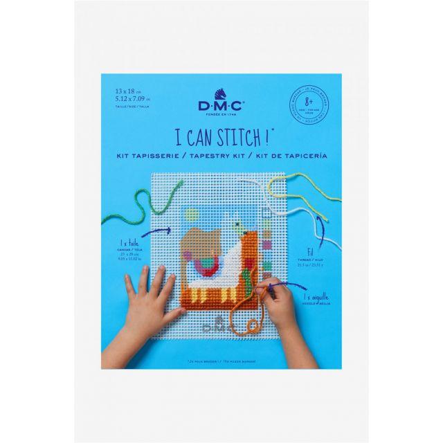 Kit Tapisserie DMC - Lama 13x18 cm