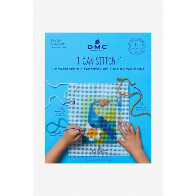 Kit Tapisserie DMC - Toucan 13x18 cm