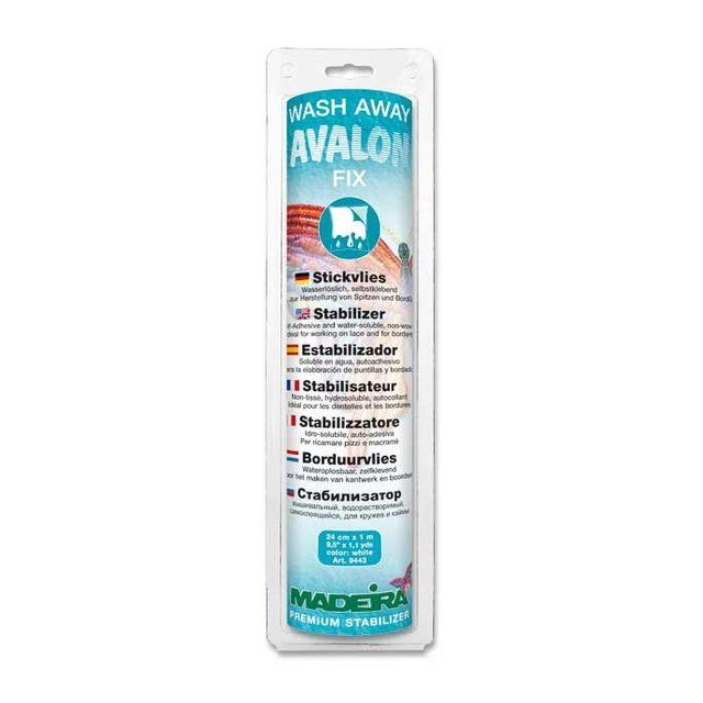 Stabilisateur de broderie hydrosoluble Avalon Fix Madeira