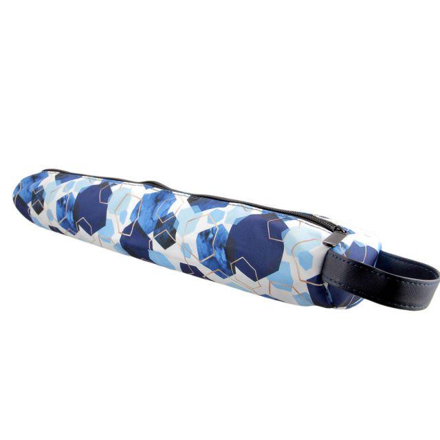 Fourreau aiguilles à tricoter Care & Create design - Bleu et or