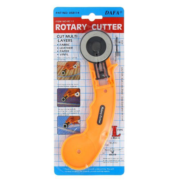 Cutter rotatif Dafa 45 mm lame droite