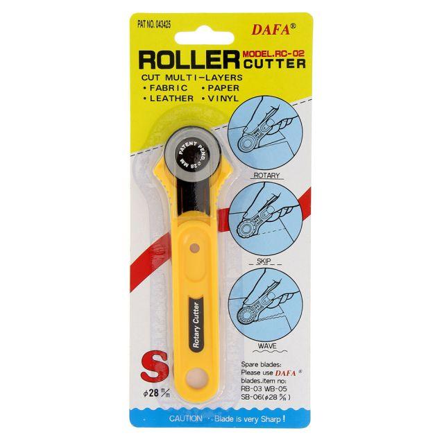 Cutter rotatif Dafa 28 mm lame droite