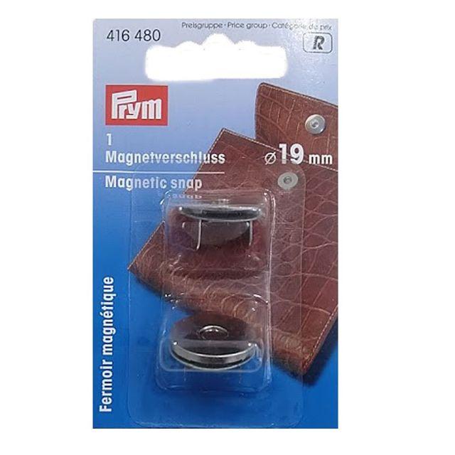 Fermoir magnétique 19 mm Prym Argent
