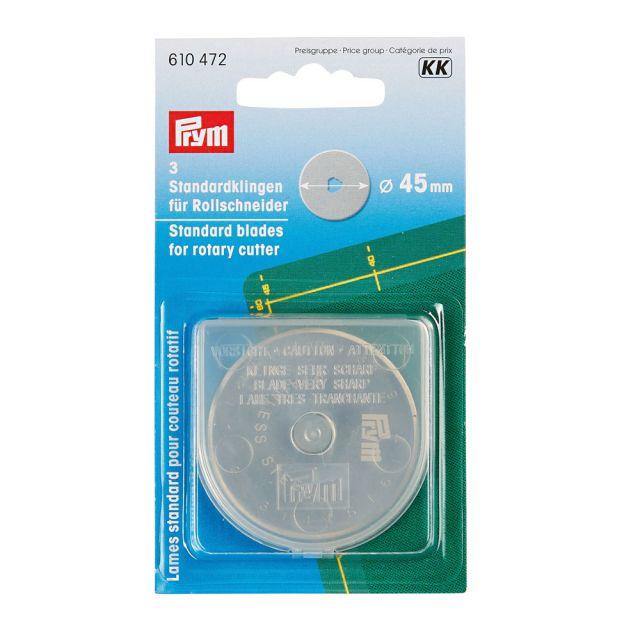 Lames circulaires pour cutter rotatif Prym 45 mm