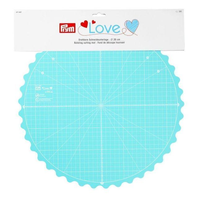 Fond découpe tournant rond Prym Love 35 cm