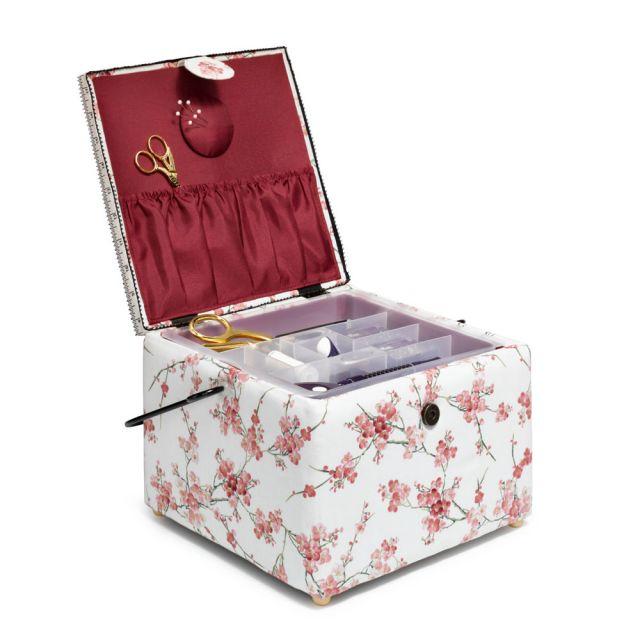 Boite à  couture Fleur de cerisier Prym