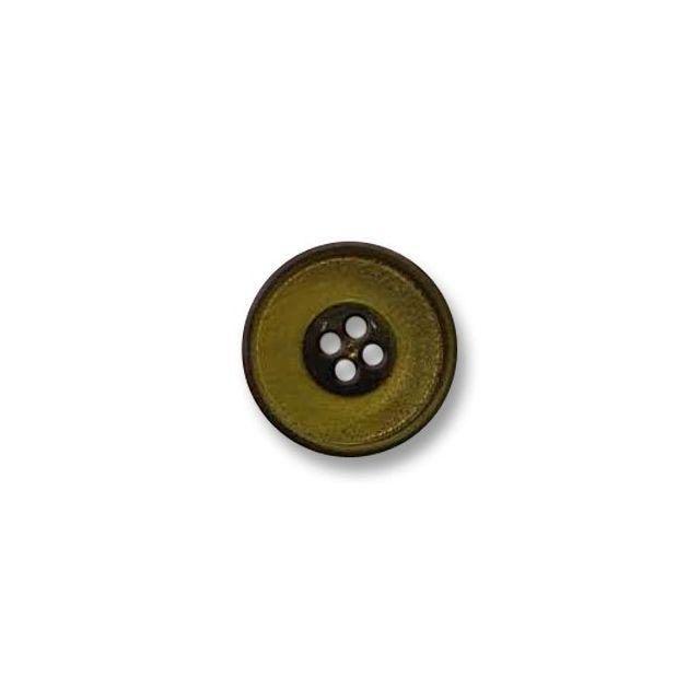 Bouton 4 trous 23 mm Vert