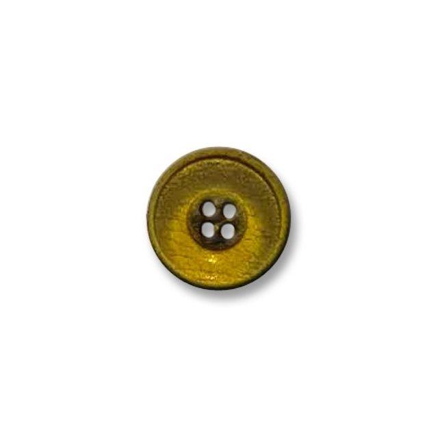 Bouton 4 trous 23 mm Jaune