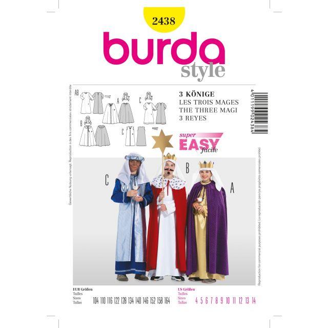 Patron Burda 2438 Les Rois Mages