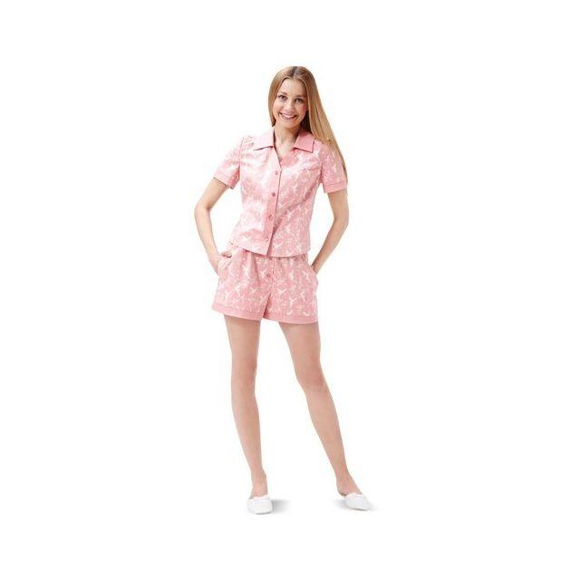 Patron Burda 6742 Pyjama et chemise de nuit