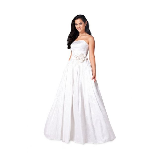Patron Burda 6776 Robe de mariée et robe de soirée