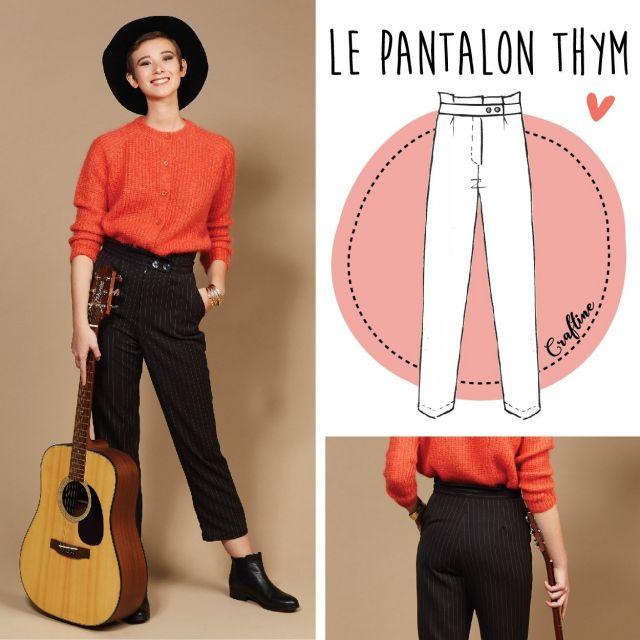 Patron Craftine Pantalon Thym