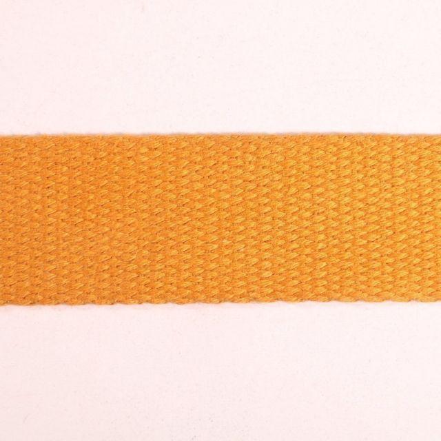 Sangle Coton 30 mm Ocre x1m