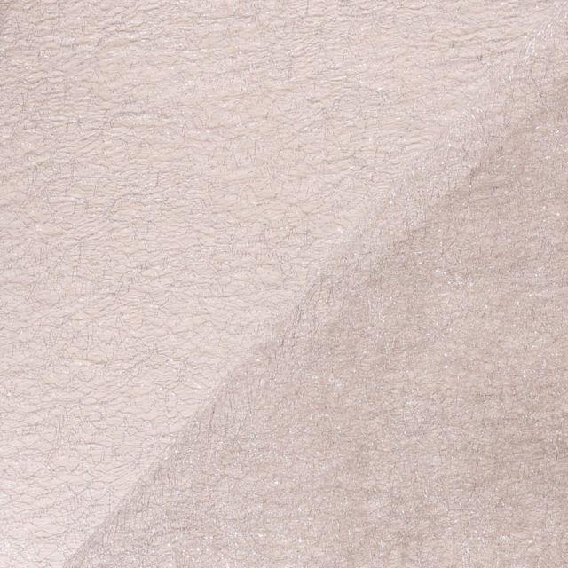 Tissu Tulle Lurex Argent - Par 10 cm