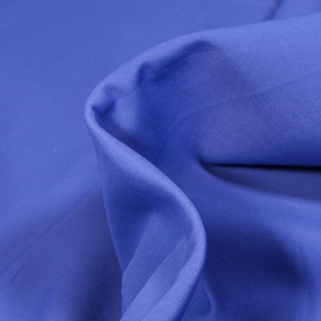 Tissu Lycra léger Travel uni Bleu roi