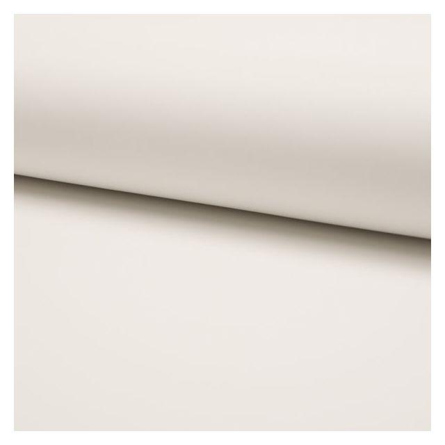 Tissu Simili cuir souple uni mat Blanc - Par 10 cm
