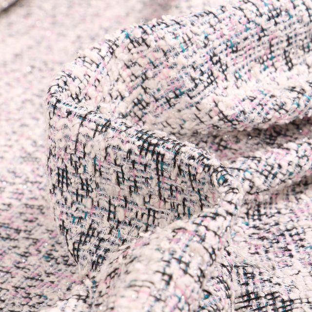 Tissu Tweed Rachel Rose