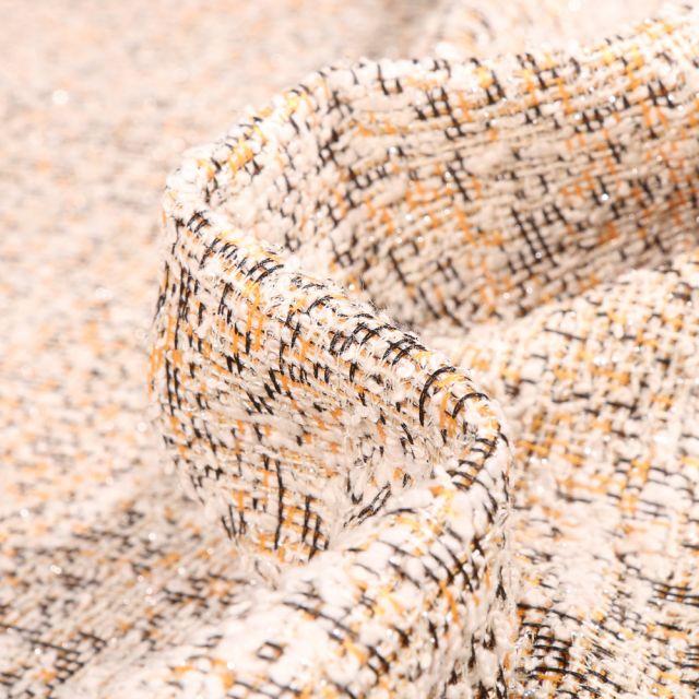 Tissu Tweed Rachel Jaune