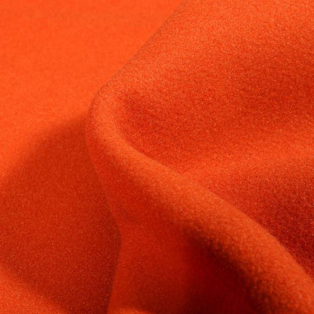 Tissu Drap de manteau Glasgow Orange