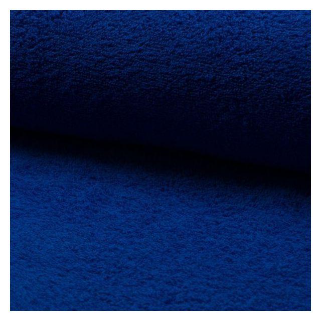 Tissu Eponge légère 320 g/m² Bleu roi - Par 10 cm