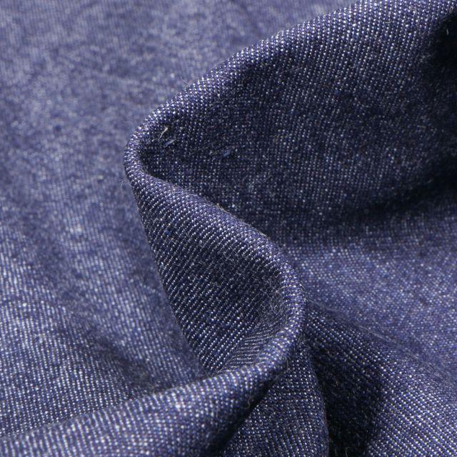 Tissu Jean 7.5 Oz Bleu foncé