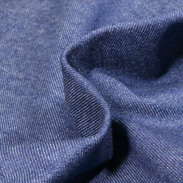 Tissu Jean épais 10 Oz Bleu