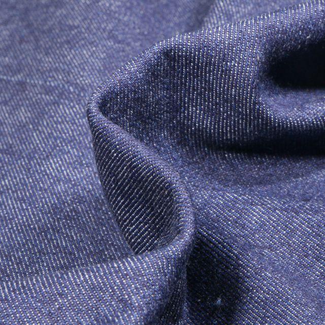 Tissu Jean épais 10 Oz Bleu marine