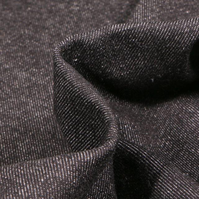 Tissu Jean épais 10 Oz Noir