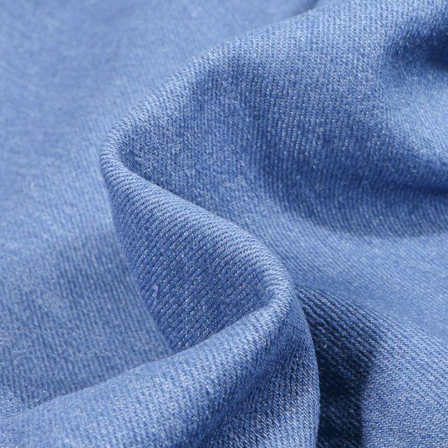 Tissu Jean Stretch 8.5 Oz Bleu