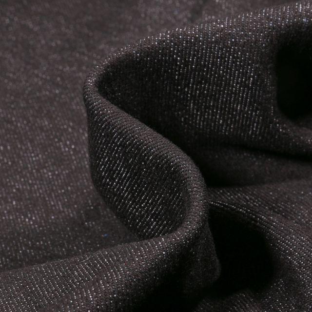 Tissu Jean Stretch 8.5 Oz Noir