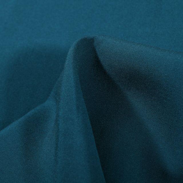Tissu Viscose légère Bleu pétrole