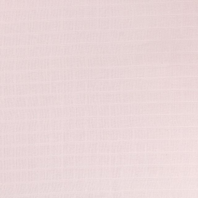 Tissu Lange Bébé Biologique Acier - Par 10 cm