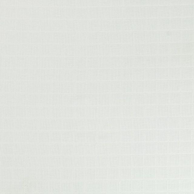 Tissu Lange Bébé Biologique Menthe - Par 10 cm