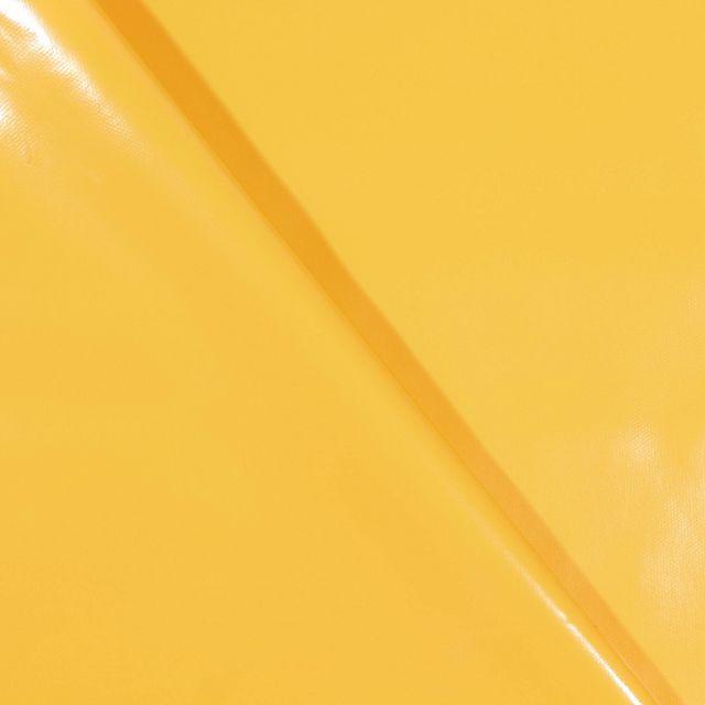 Toile cirée uni Jaune - Par 10 cm