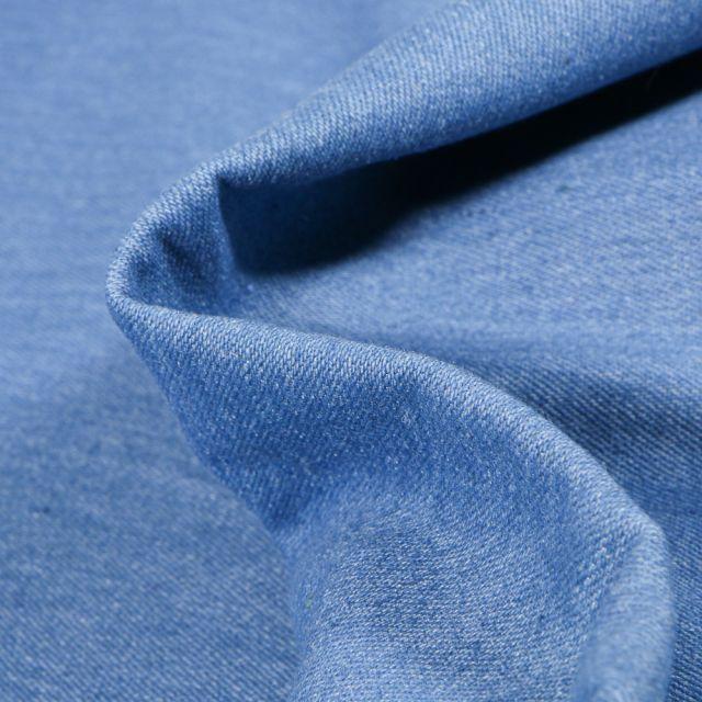 Tissu Denim Jeans Bleu clair