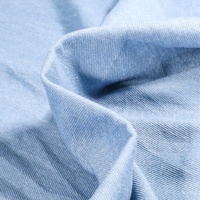 Tissu Jean épais  Bleu clair
