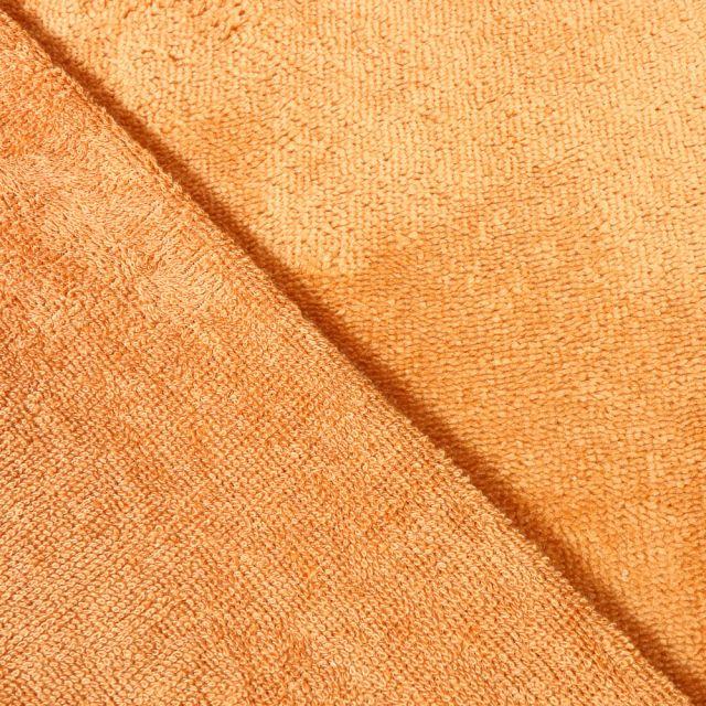 Tissu Micro Éponge Bambou Camel