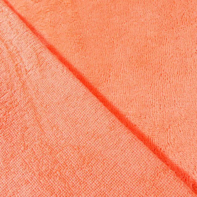Tissu Micro Éponge Bambou Melon