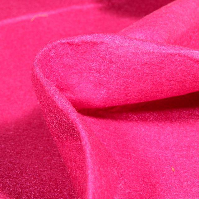 Tissu Feutrine 180 cm Rose fuchsia