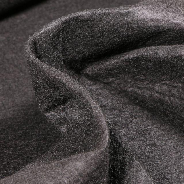 Tissu Feutrine 180 cm Noir