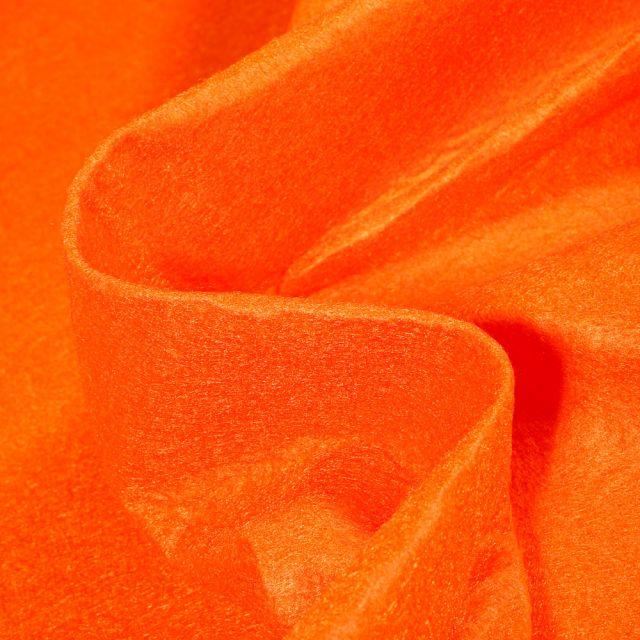 Tissu Feutrine 180 cm Orange