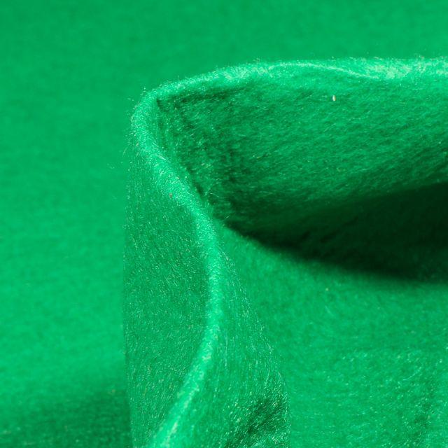 Tissu Feutrine 180 cm Vert gazon