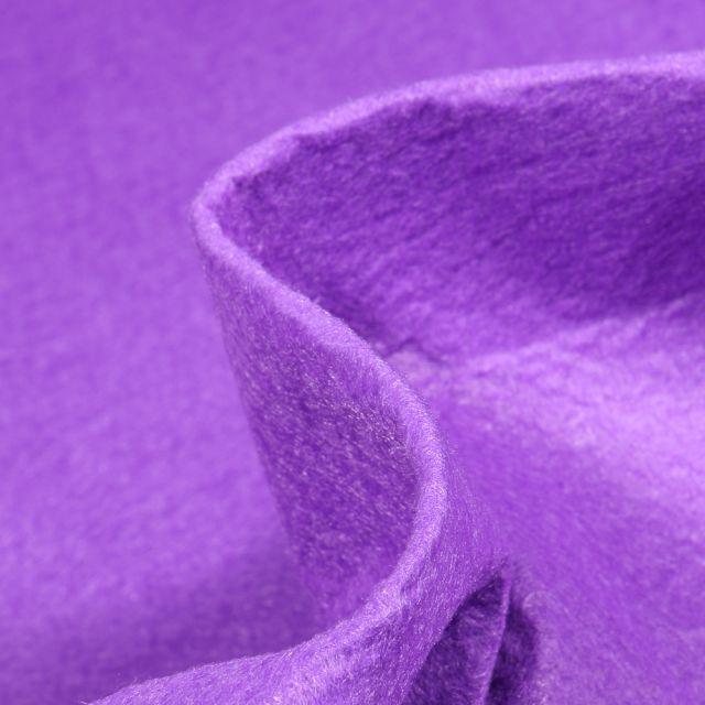 Tissu Feutrine 180 cm Violet
