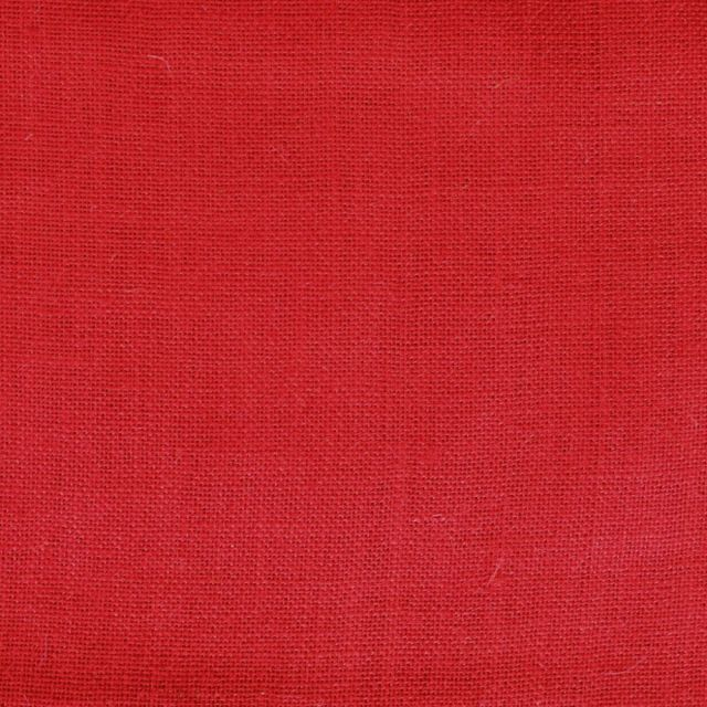 Toile de Jute Rouge - Par 10 cm