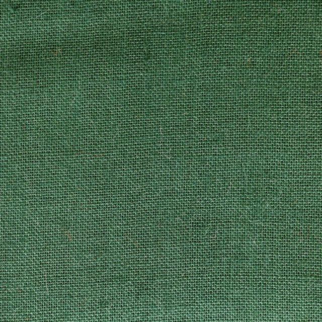 Toile de Jute Vert Sapin - Par 10 cm